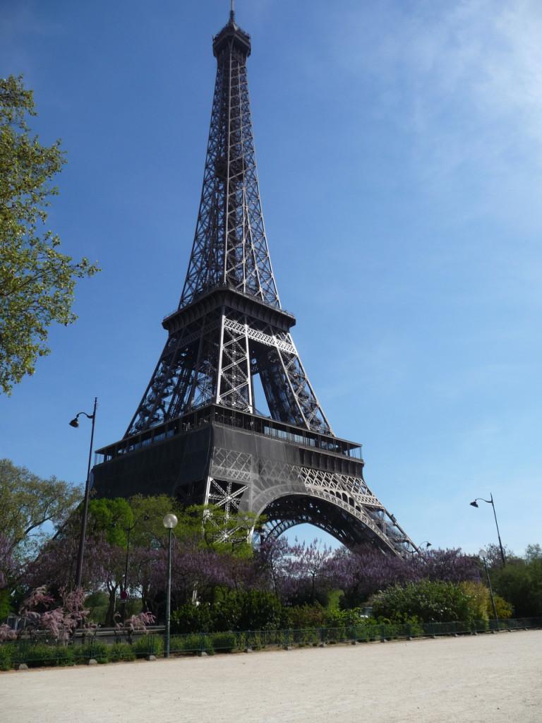 Eiffelov toranj od šibica